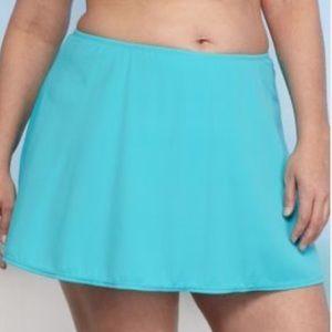 Kim Rogers Side Slit Swim Skirt Skirted Bottom